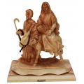 Flight to Egypt statue