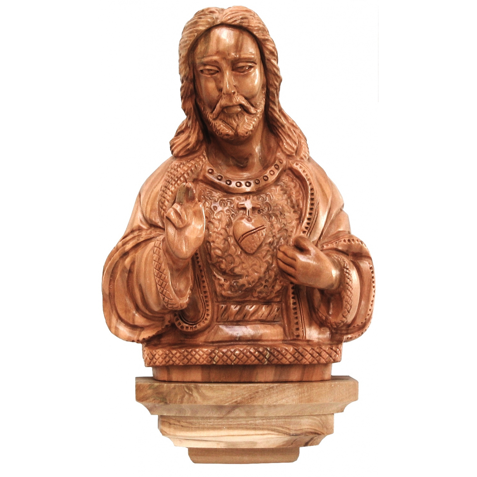 sacred heart jesus wall plaque