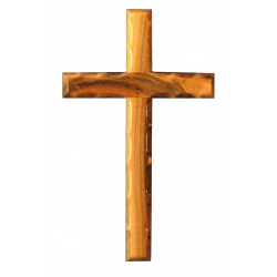 Olive wood cross 20cm