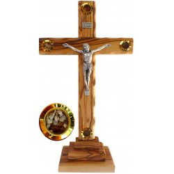 Large Standing crucifix 28cm