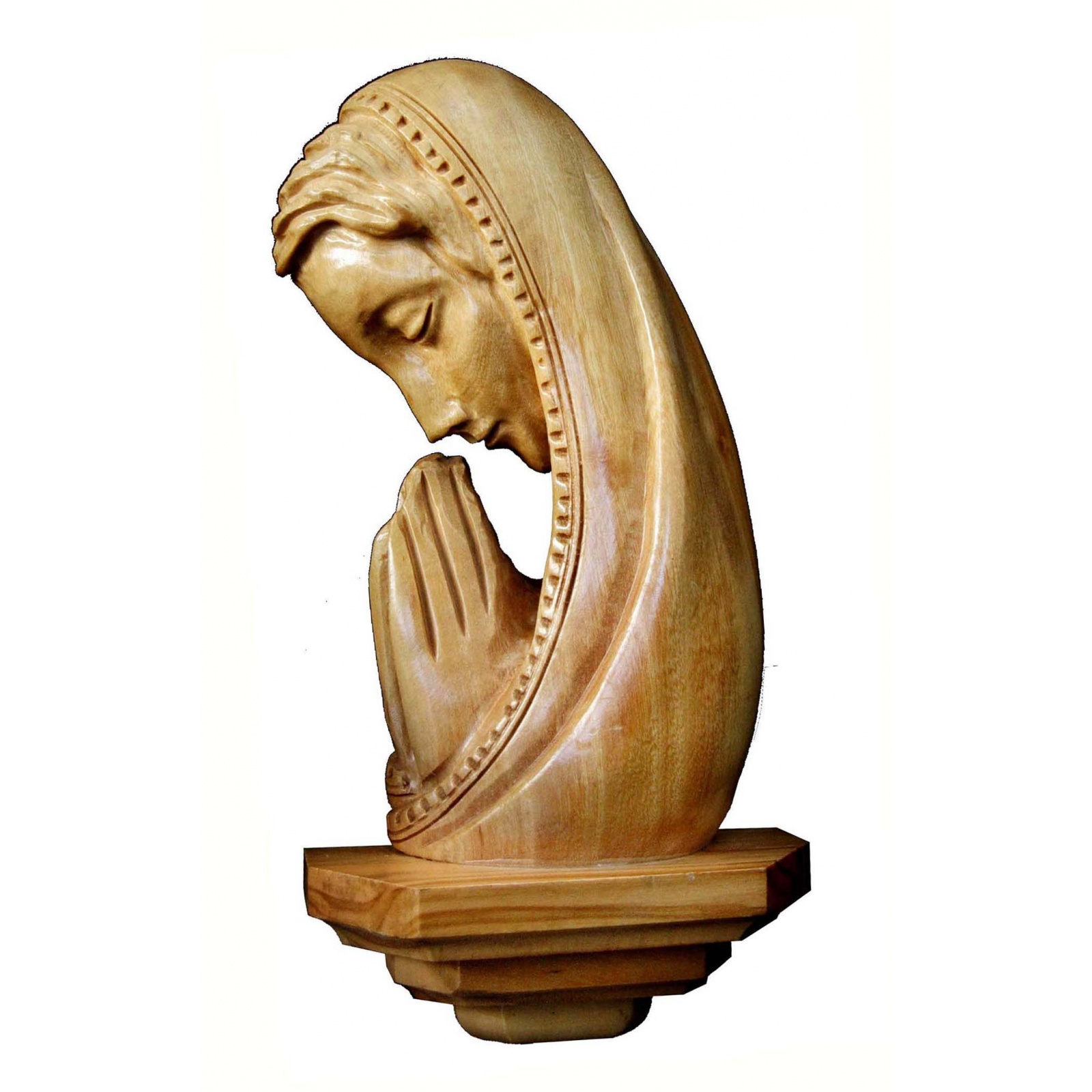 madonna praying wall plaque