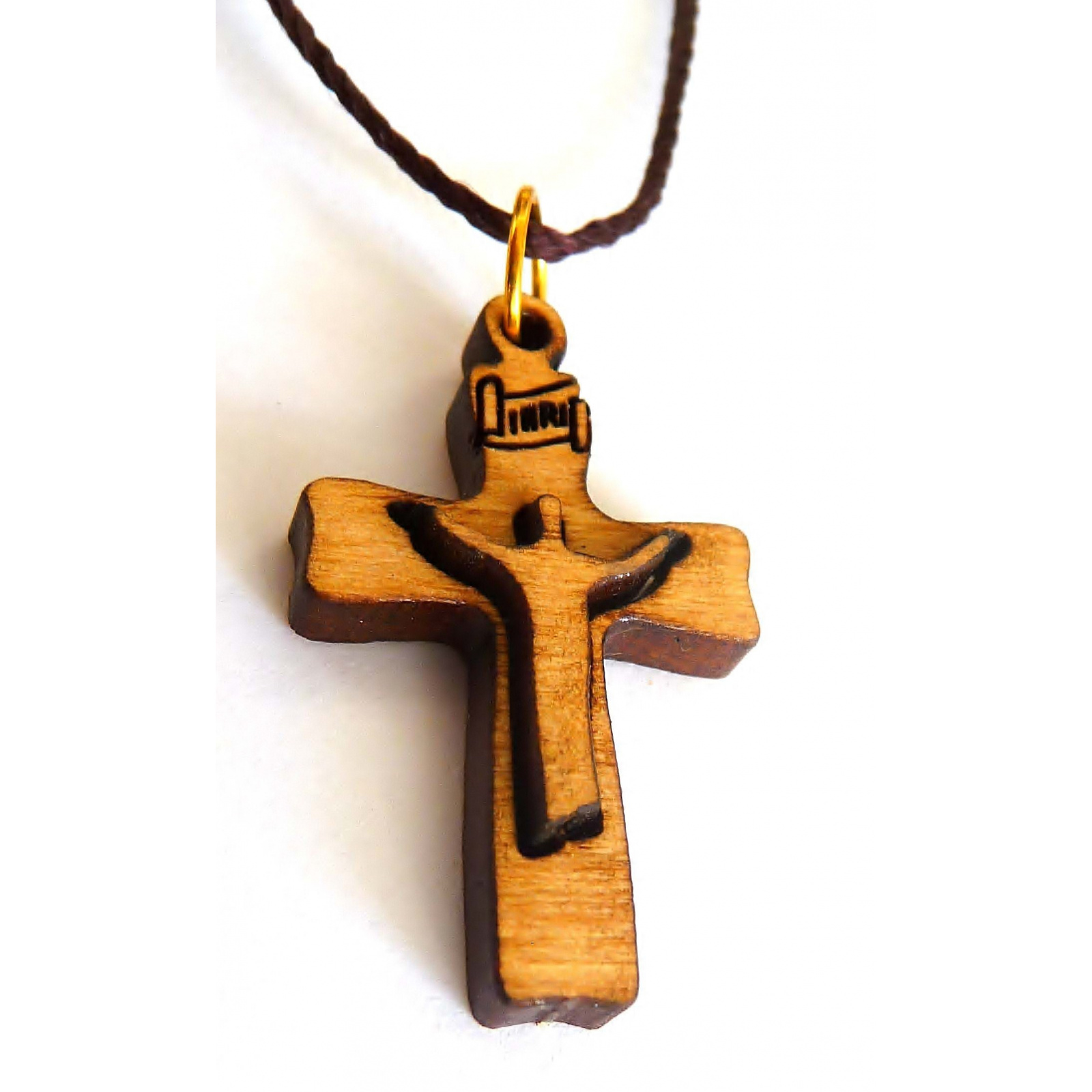 Risen Christ Cross Pendant