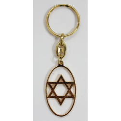 Star od David keychain