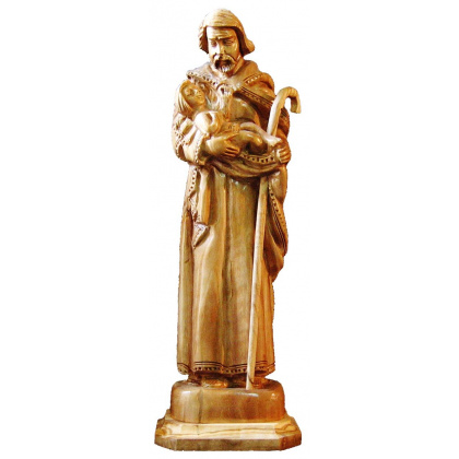 saint joseph child jesus statue