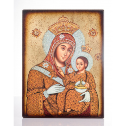 virgin mary bethlehem icon