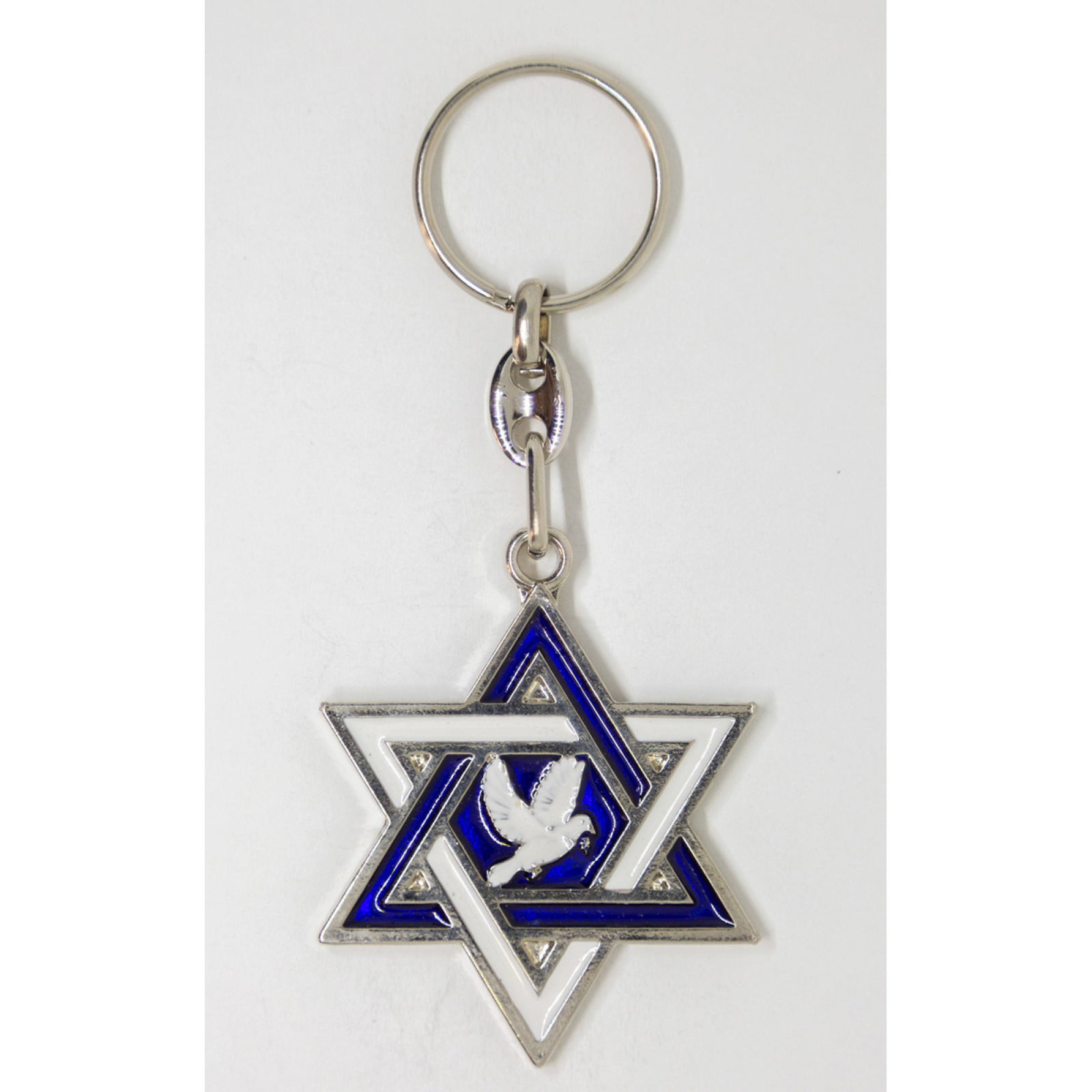 Star of David with the Dove of Peace
