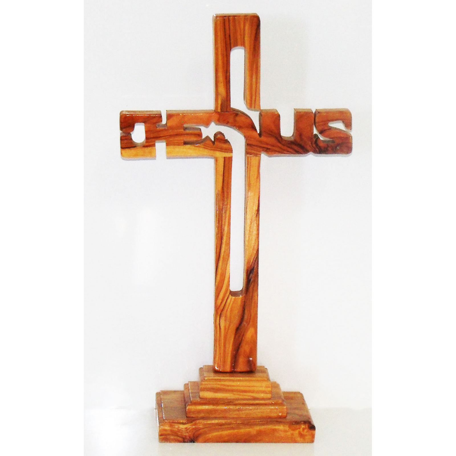 Jesus Name standing cross