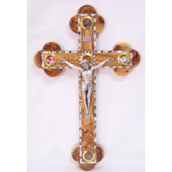 Mother of pearl crucifix