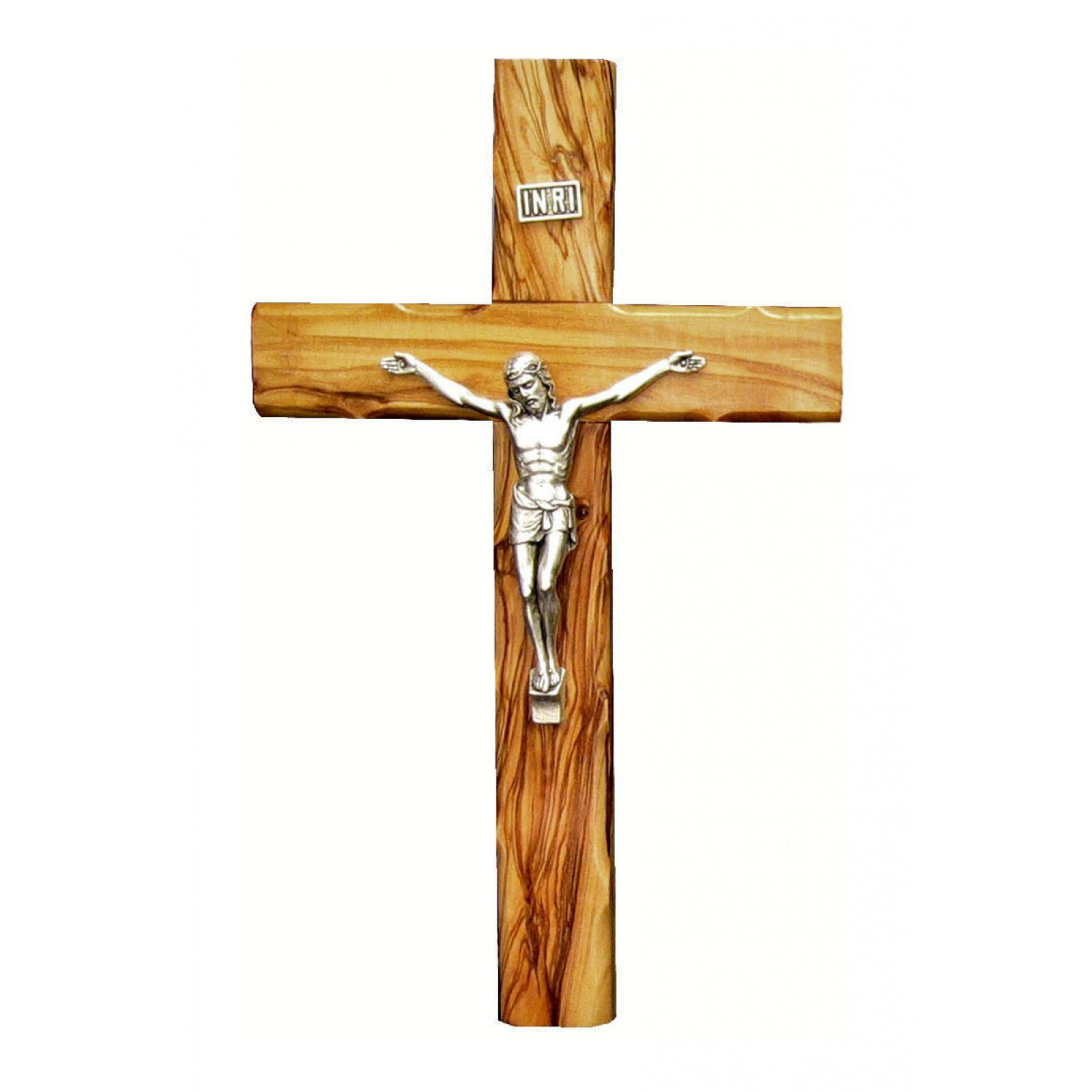 Large Olive wood crucifix