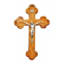 Large Orthodox crucifix 28cm