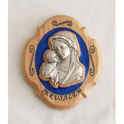 Madonna with Child Plaque